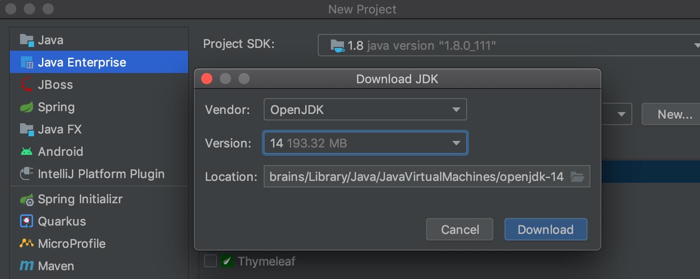 从IDE下载JDK